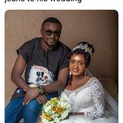 Reactions After This Man Wore Danshiki And Jeans To His Wedding