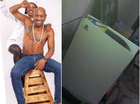 Musician Seun Kuti shows off Ps5 his wife gifted him, send strong message to Nigerian men