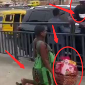 See What Man Did To A Pregnant Hawker That Got People Talking