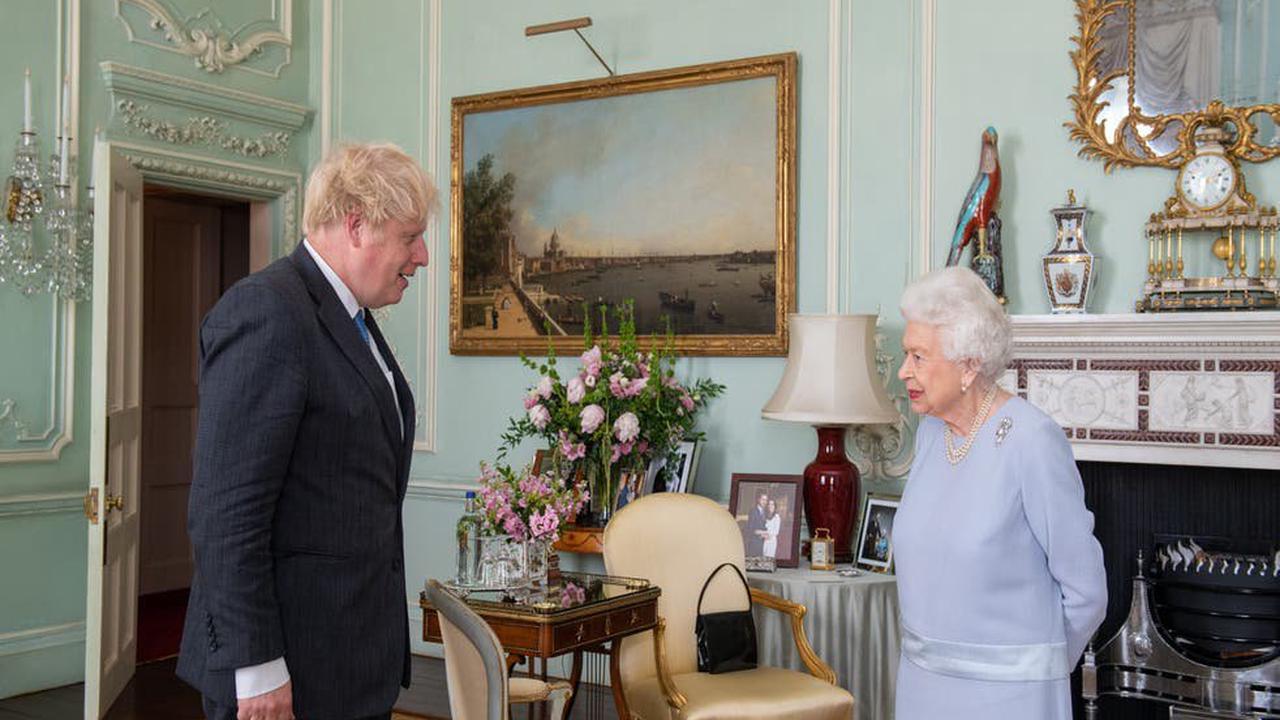 Queen describes Matt Hancock as 'poor man' at meeting with Johnson