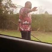 Pres. Uhuru Excites Kenyans After Being Seen Taking a leisure Walk without His Security Details