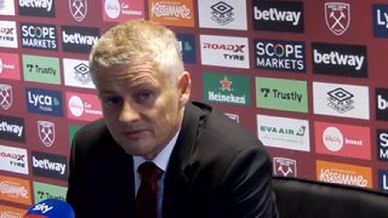 Man Utd boss Ole Gunnar Solskjaer addresses sack claims after West Ham victory