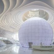 Check Out Stunning Pictures Of This Library in China That Looks Like Something From A Movie
