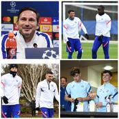 COBHAM: Thiago, Mount all smiles as Havertz and Ziyech trains at Cobham ahead of trip to France