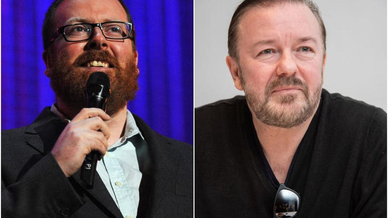 Comedian Frankie Boyle called out Ricky Gervais for 'lazy' jokes about trans people