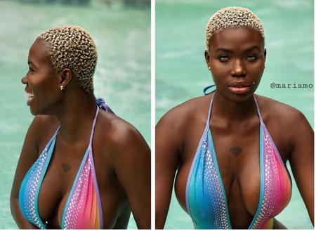 Beautiful Photos Of This Nigerian Model Mariam Mobil, Who Is A Muslim