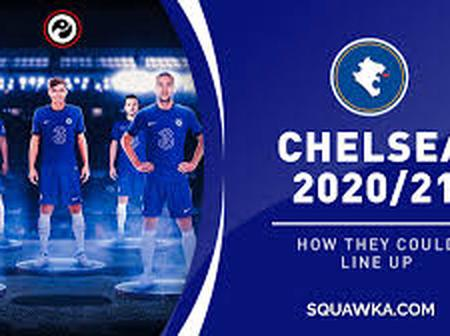 Chelsea Deadly Lineup to Face Tottenham Today With Ziyech, Havertz, Odoi