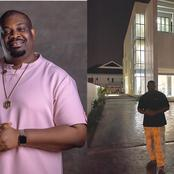 Don Jazzy added new crib to his numerous portfolio, reveals what is neighbors are doing