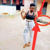 After This Lady Posted Her Picture Online, See The Unusual Thing That People Saw In The Background