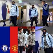 Chelsea players and coach arrives Stamford Bridge in style ahead of today's kickoff.