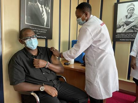 President Uhuru Directs That All Cabinet Members Get Covid-19 Vaccine As Public Motivation Way