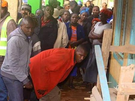 Dramatic Scenes In Migori As a Lady Brutally Stabs a Student In a Wild Fight