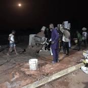 Dennis Idahosa Thrills Residents As Lawmaker Inspect Constituency Projects At Night(photos)