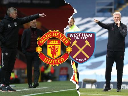 Man United vs West Ham United Team News, Injury Update And Possible Line Up
