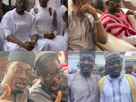 Stunning Photos From Pasuma Daughter's Wedding Today