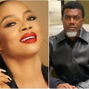 Toke Makinwa Blasts Reno Omokri, Calls Him Uncouth After He Calls Her Bleached Divorcee Slay Queen.