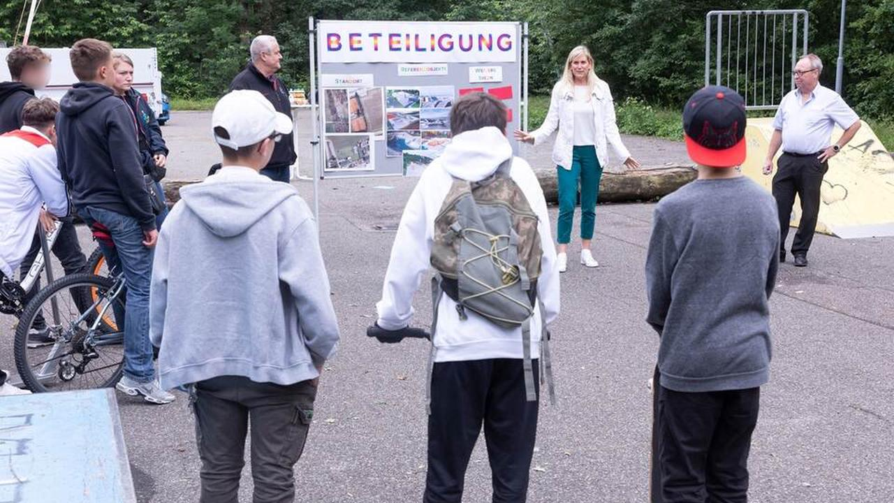Huchenfeld plant den großen Wurf: Neue Skateanlage soll her
