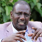 William Ruto Will Be in Meru for the Weekend, this Is The Activity he will be Conducting