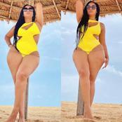 Actress Juliet Ibrahim Stuns In New Photos, Flaunts Her Beautiful Legs Online