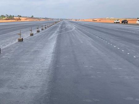 Obiano Is Working: See The Runway of Anambra International Airport