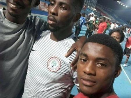 Current super Eagles player who went from asking for a selfie as a fan to being a team mate