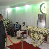 Décès du président de la FIF : le Ministre ses condoléances à la famille éplorée.