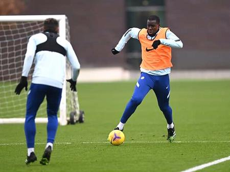 [PHOTOS] Chelsea players training for their Sunday EPL Clash against Manchester City