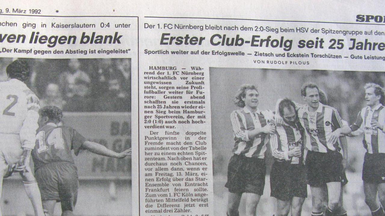 Club-Guzerl: Als Eckes die Kirsche ins HSV-Tor knallte