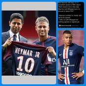 After PSG President Confirmed Neymar Won't Be Sold, See What He Said About Mbappe's Contract