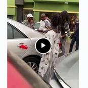 See How Happy This Nollywood Actor Is After Receiving A Car Gift (Video).