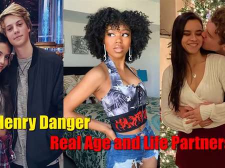 Nickelodeon: See Henry Danger Casts, Real Age, And Their Lovers