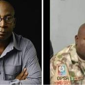 Meet Bgr. General F. O. Omata Who Led The Lekki Toll Gate Massacre Last Night (Photos)