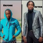 Indeed Money Is Good: See The Amazing Transformation Of Tricky-Tee After He Became A Celebrity.