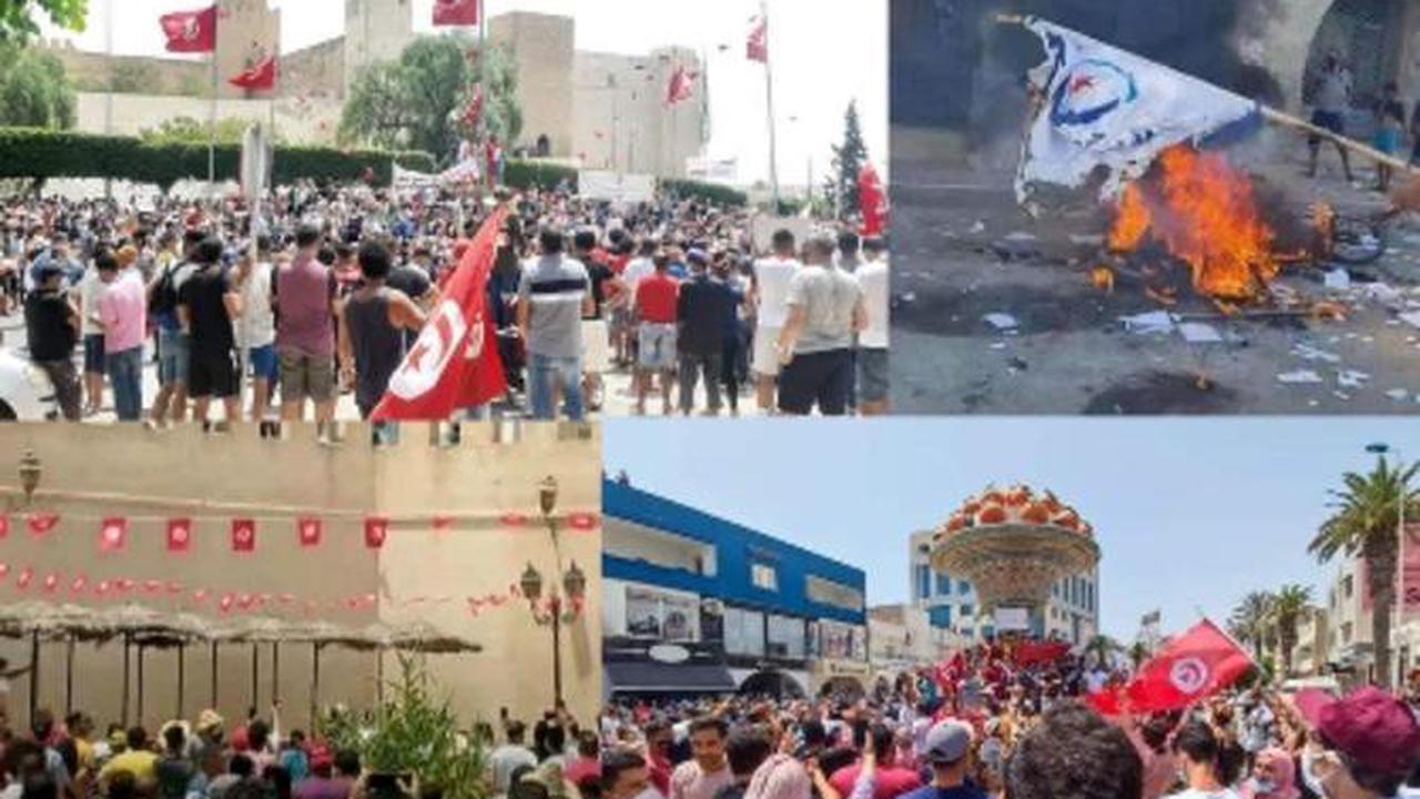 Manifestations contre la classe politique et pour les droits économiques et sociaux
