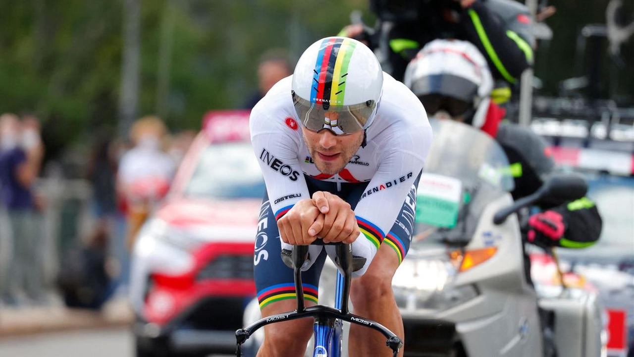 Giro d'Italia 2021 cycling - Impressive Filippo Ganna tops opening time-trial in style in Turin