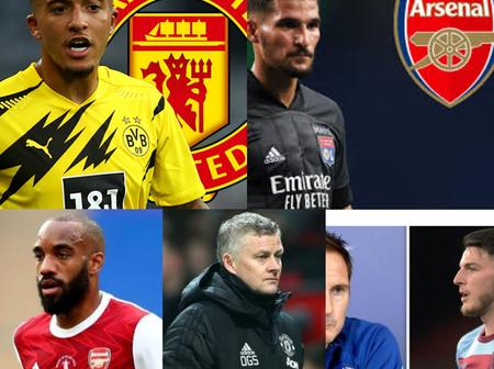 Latest Man utd, Chelsea, Arsenal, Man City, Juventus Done Transfers And Other Transfer Done Deals