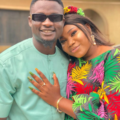 Photos: Nigerian comedian visits his fiancée's home, performs marriage introduction