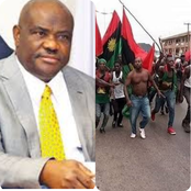 The Igbo Group Vows To Terrorize Port Harcourt, Attack The Oil Company After Wike Bans Their Meeting