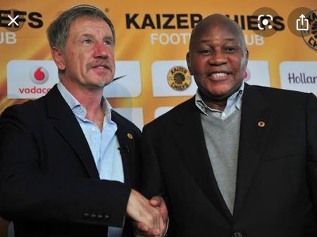Kaizer Chiefs boss Motaung confirms talks with Stuart Baxter