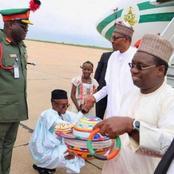 See Throwback Photos Of El Rufai Kneeling Before Obasanjo, Atiku, Buhari And Oba Rilwan Akiolu