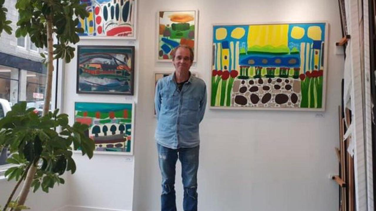 Aberdeen painter asks people not to ditch art projects as 'normality' resumes