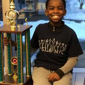Meet 8 Year Old Tanitoluwa Adewumi, Who Has Won 7 Chess Trophies And Fast Becoming A US Chess Star.