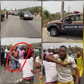 See what happened when security operatives allegedly tried arresting Sunday Igboho [Video]