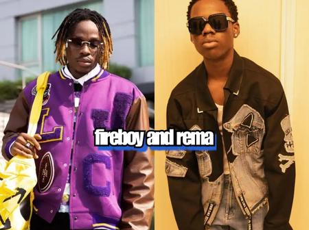 Look at what Fireboy DML said when Rema posted these new photos on Instagram