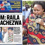 Millicent Omanga Reaction After Seeing Her Photo on Taifa Jumapili as Kenyans React