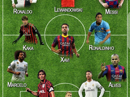 Check Out The Possible First Eleven Of The Best Players In Every Position Since 2000.