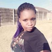 A beautiful lady stabbed 7 times till she dies. See what Ramaphosa said about this