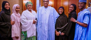 Checkout President Buhari's Children, their Names, Pictures & Schools they attended.