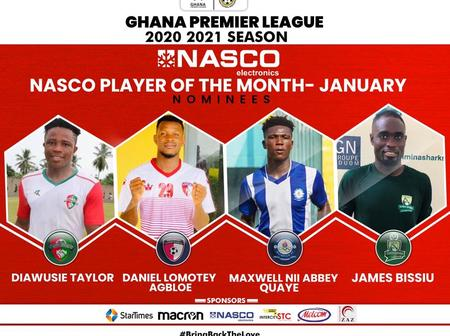 Checkout the nominees for the Nasco Player of the month award.