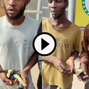 Video: Interrogation Of A Group Of Criminals Arrested Recently, As They Confessed To Their Crimes